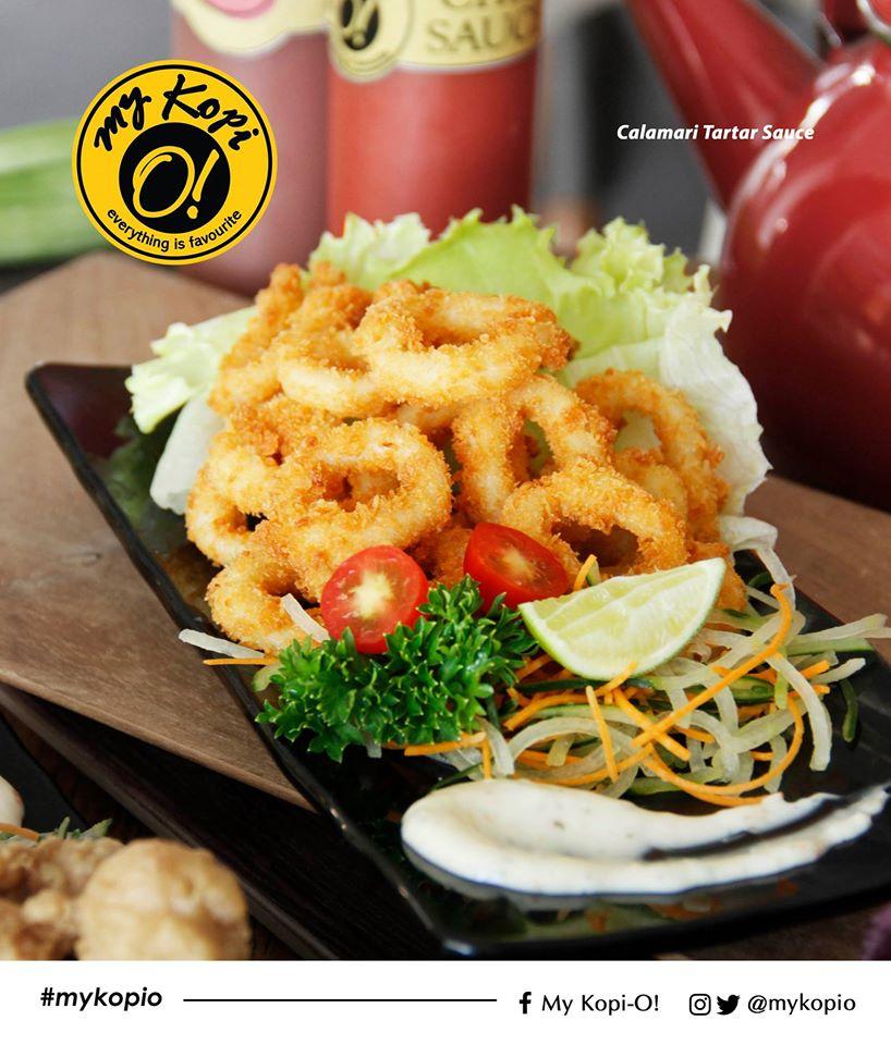 Calamari Tartar Sauce