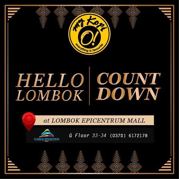 Hello My Kopi-O! Lombok